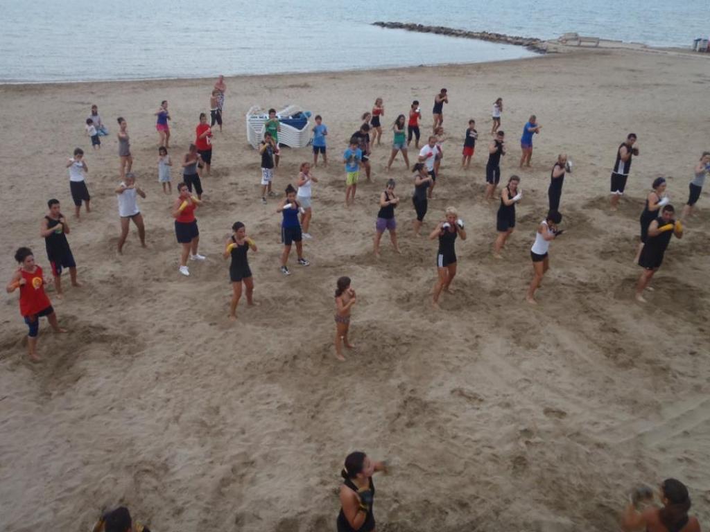 Activitats a la platja del Capri