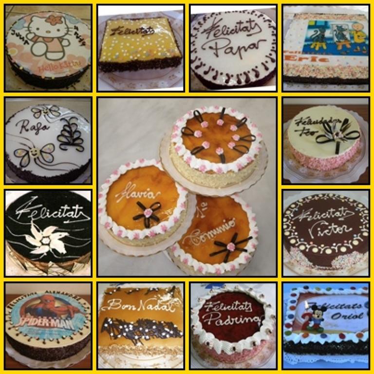 Alguns dels pastissos.